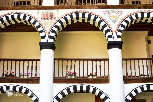 The Rila monastery